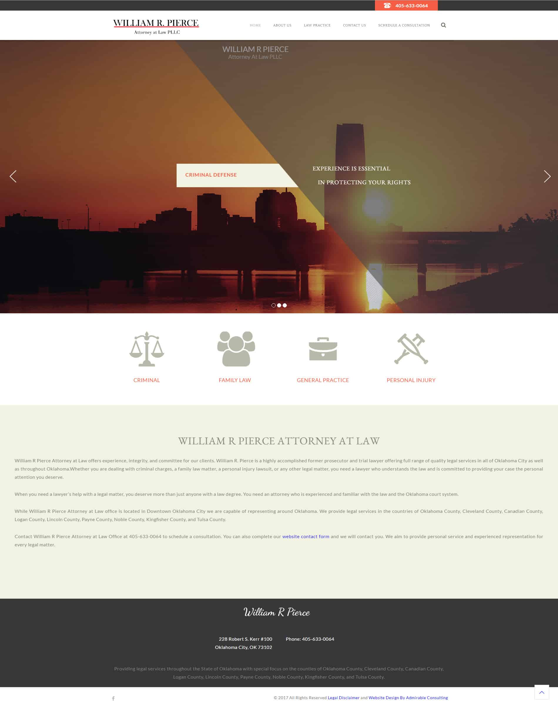 Oklahoma City Lawyer Website Development